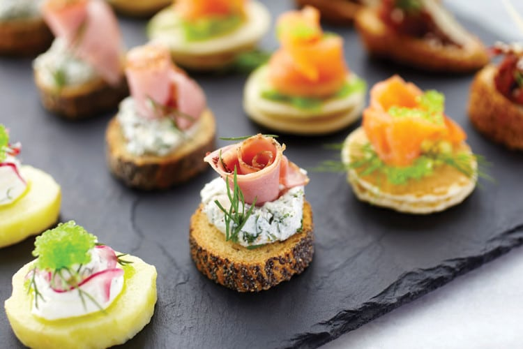 Canapes Catering Sunshine Coast